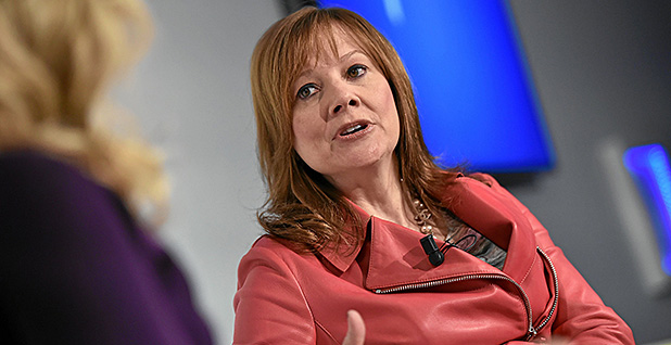 Mary Barra. Photo credit: Michael Beholder/Photo Archive/Flickr