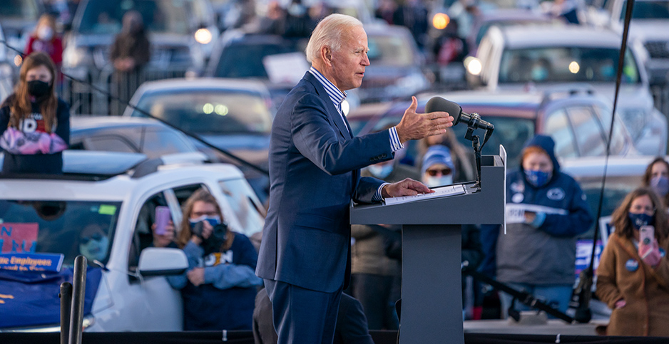 Joe Biden. Photo credit: Adam Schultz/ZUMA Press/Newscom