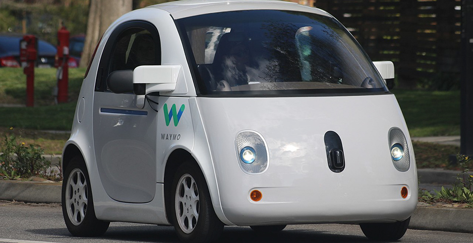Autonomous car. Photo credit: Grendelkhtan/Wikimedia Commons