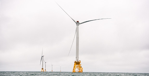 Block Island wind farm. Photo credit: Department of Energy/Flickr