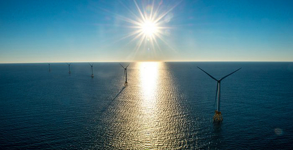 Block Island wind farm. Photo credit: Deepwater Wind