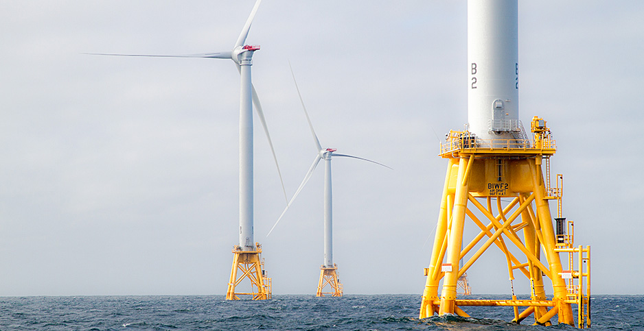 Block Island Wind Farm. Photo credit: Gary Norton/NREL