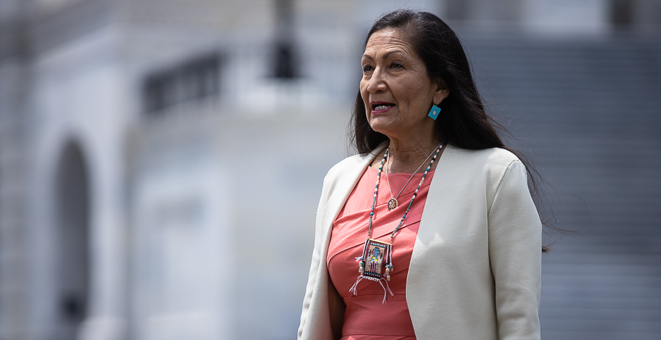 Deb Haaland. Photo credit:  Francis Chung/E&E News
