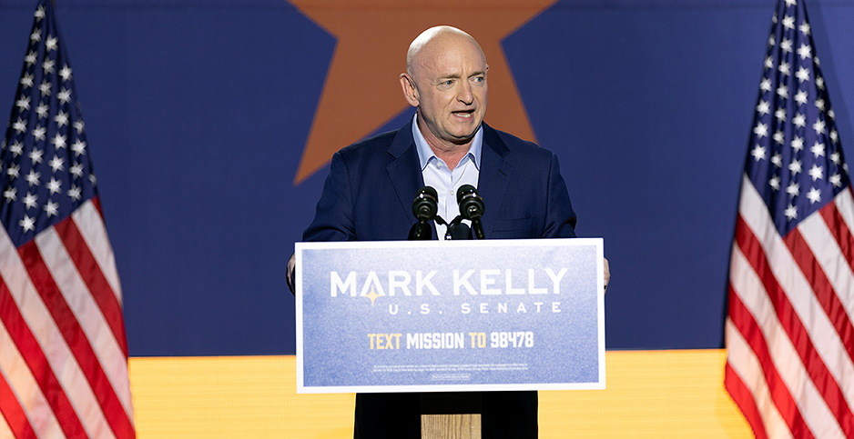 Mark Kelly. Photo credit: Cheney Orr/Reuters/Newscom