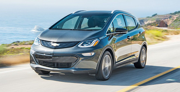 A 2018 Chevy Bolt. Photo credit: Chevrolet