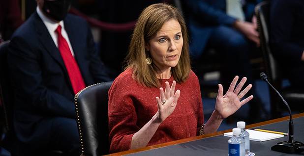 Amy Coney Barrett. Photo credit: Francis Chung/E&E News