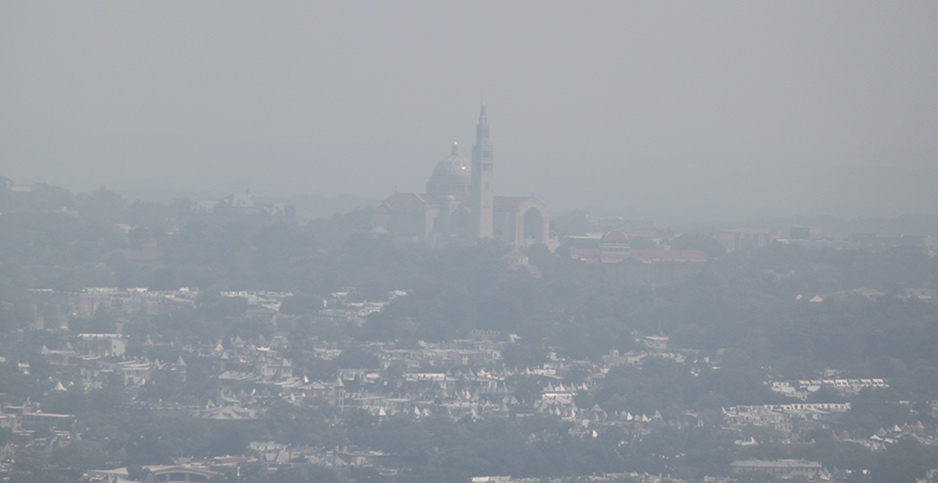 Smog in Washington, D.C. Photo credit: Gary Todd/Flickr