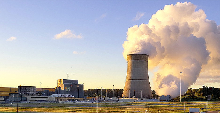 The Grand Gulf nuclear power plant in Mississippi. Photo credit: Entergy Corp.