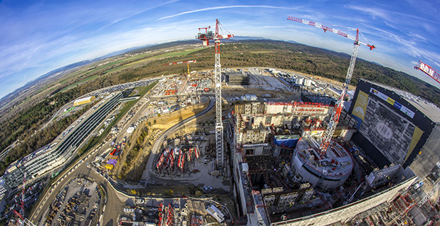 International Thermonuclear Experimental Reactor fusion project. Photo credit: ITER
