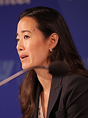 Melanie Nakagawa. Photo credit: Environmental Change and Security Program/Flickr