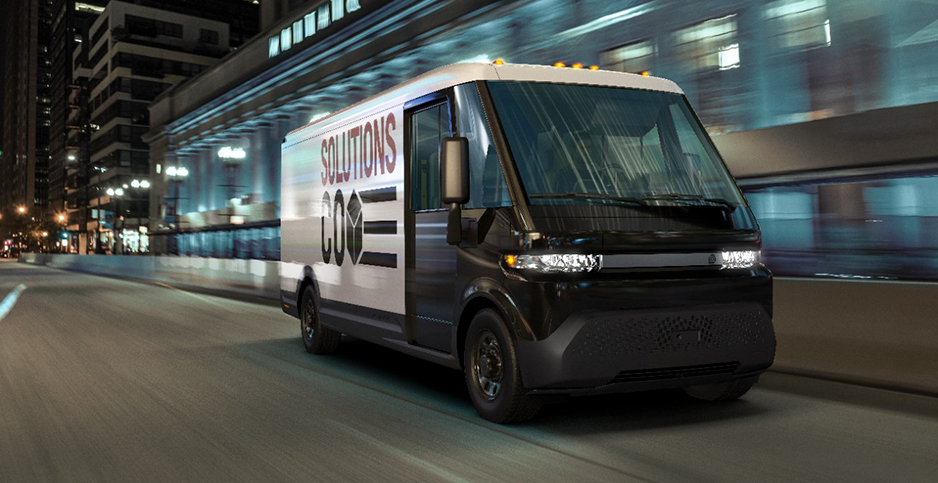 General Motors Co. EV600 electric commercial vehicle. Photo credit: GM