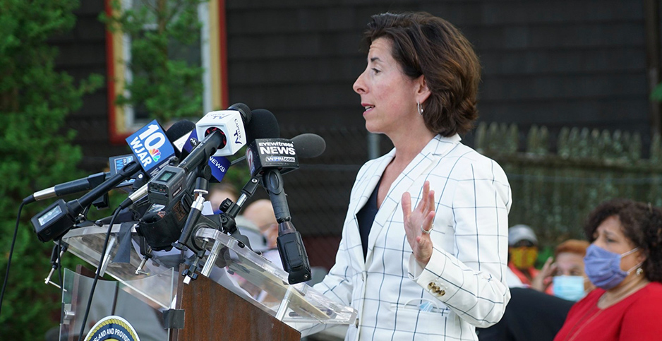 Gina Raimondo. Photo credit: Gina M. Raimondo/Facebook