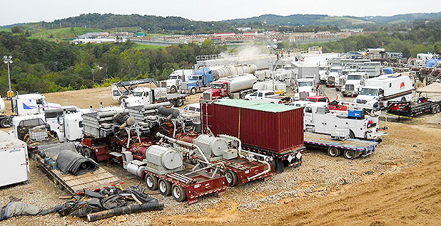 Marcellus Shale fracking. Photo credit: USGS/Wikipedia