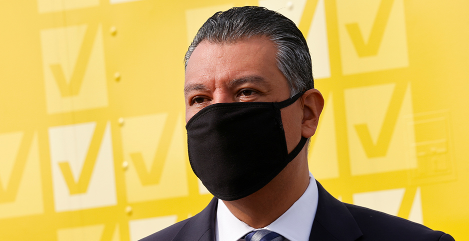 Alex Padilla. Photo credit: Mike Blake/Reuters/Newscom