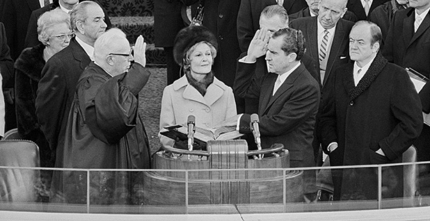 Nixon inaugural. Photo credit: Circa Images/Newscom