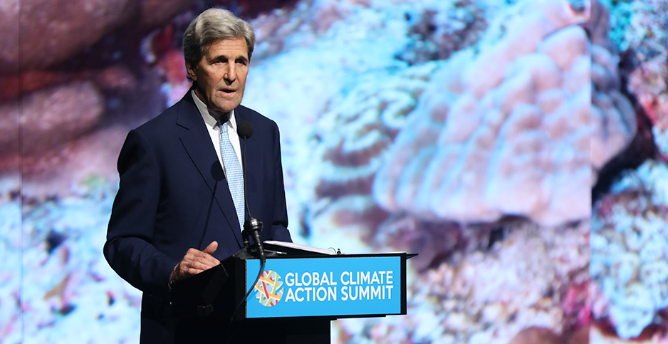 John Kerry. Photo credit: Nikki Ritcher/Global Climate Action Summit/Flickr