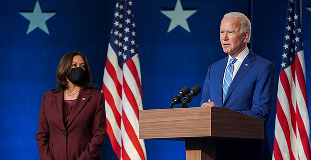 President Biden and Vice President Kamala Harris. Photo credit: Biden/Facebook
