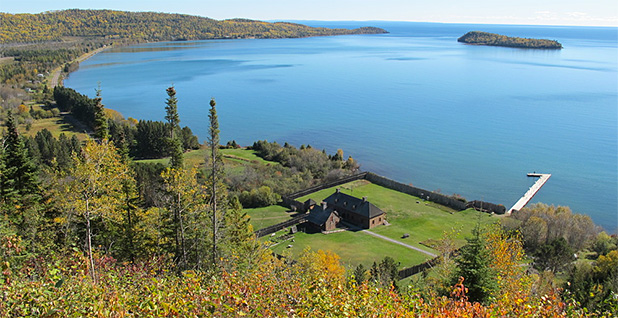 Grand Portage National Monument. Mount Rose Trail Overlook Photo credit: NPS