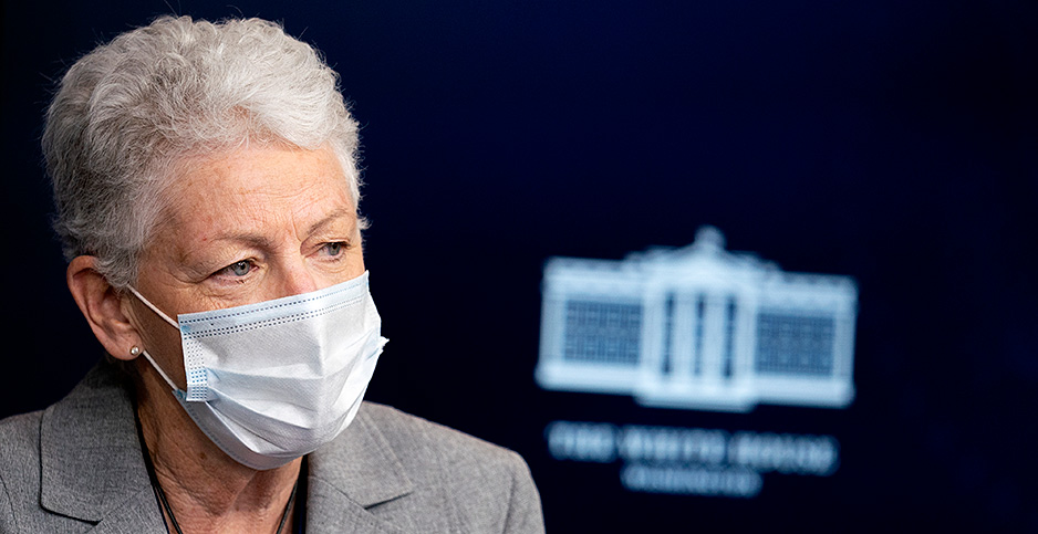 Gina McCarthy. Photo credit: Sipa USA/Newscom