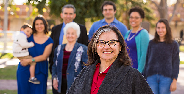 State Sen. Antoinette Sedillo Lopez of New Mexico (center) is one of three Democratic sponsors of a measure that aims to make the right to a healthy environment part of the state's constitution. Photo credit: Antoinette Sedillo Lopez/Flickr