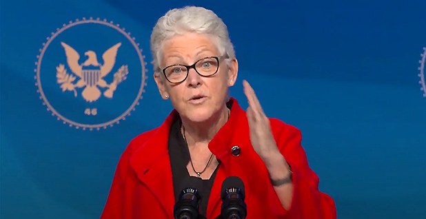 White House National Climate Advisor Gina McCarthy. Photo credit: CNP/AdMedia/Newscom