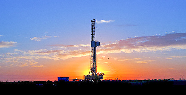 A natural gas rig in Euless, Texas. Photo credit: Pacific Northwest National Laboratory