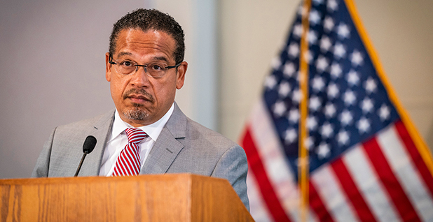 Minnesota Attorney General Keith Ellison. Photo credit: Leila Navidi/Minneapolis Star Tribune/TNS/Newscom