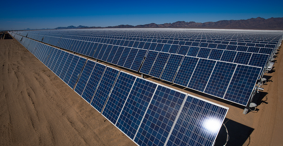 Solar panels. Photo credit: Tom Brewster Photography/Bureau of Land Management