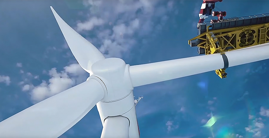 Wind Project. Photo credit: Dominion Energy/YouTube