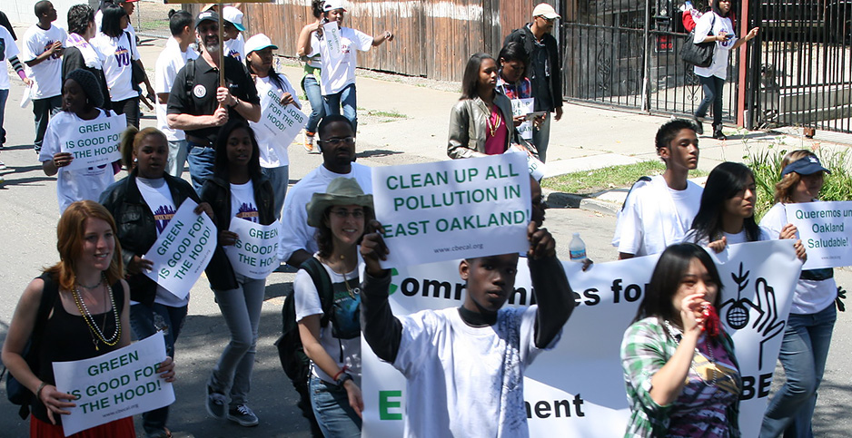 An environmental justice march. Photo credit: Black Hour/Flickr