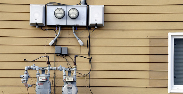 Residential electricity meters. Photo credit: Zach K/Flickr