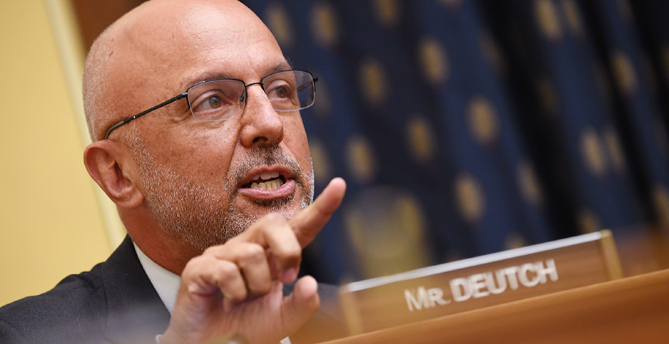 Democratic Rep. Ted Deutch of Florida. Photo credit: CNP/AdMedia/Newscom