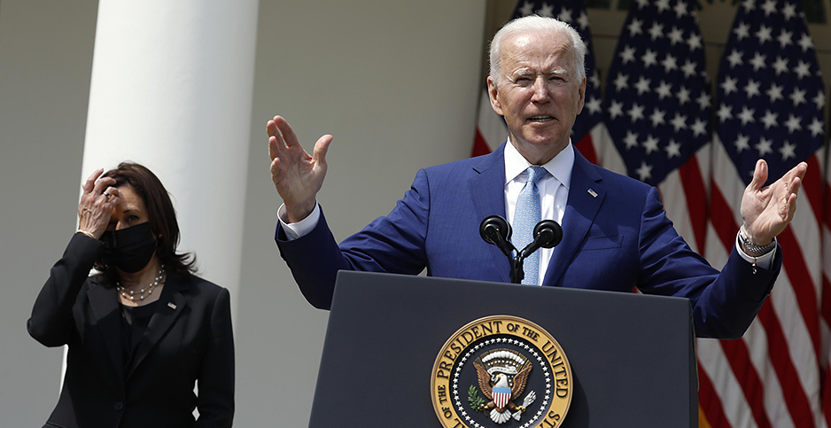 President Biden and Vice President Harris. Photo credit: Yuri Gripas/POOL via CNP/InStar/Cover Images/Newscom
