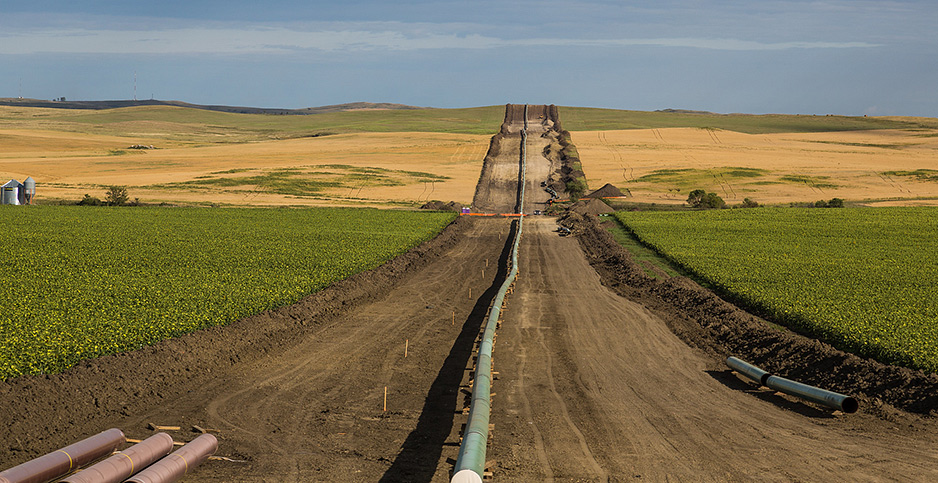 Dakota Access Pipeline construction. Photo credit: Tony Webster/Flickr