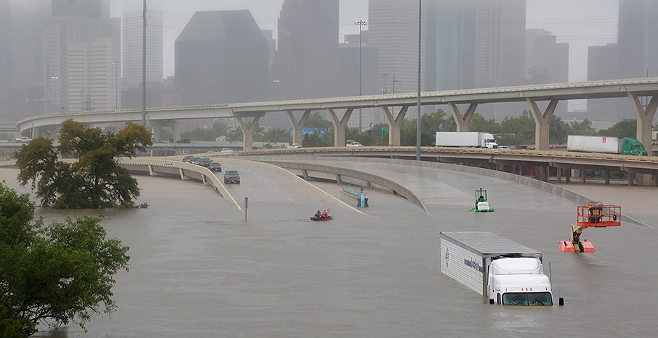 Hurricane Harvey. Photo credit: Richard Carson/REUTERS/Newscom
