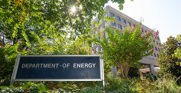 The Department of Energy headquarters in Washington is pictured. Photo credit: Francis Chung/E&E News