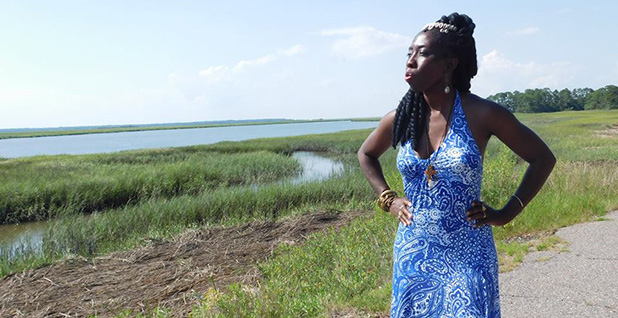 Queen Quet, chieftess of the Gullah/Geechee Nation that occupies the Sea Islands of the south Atlantic Coast. Photo credit: Gullah/Geechee Nation
