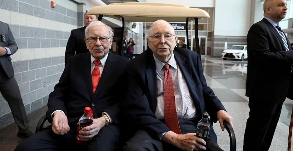 Warren Buffett and Charlie Munger. Photo credit: Scott Morgan/REUTERS/Newscom