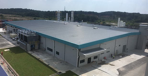 Silicon wafer factory in Malaysia. Photo credit: 1366 Technologies
