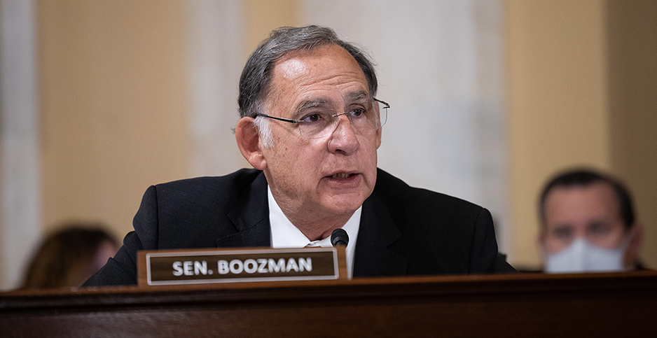 Sen. John Boozman (R-Ark.). Photo credit: Francis Chung/E&E News
