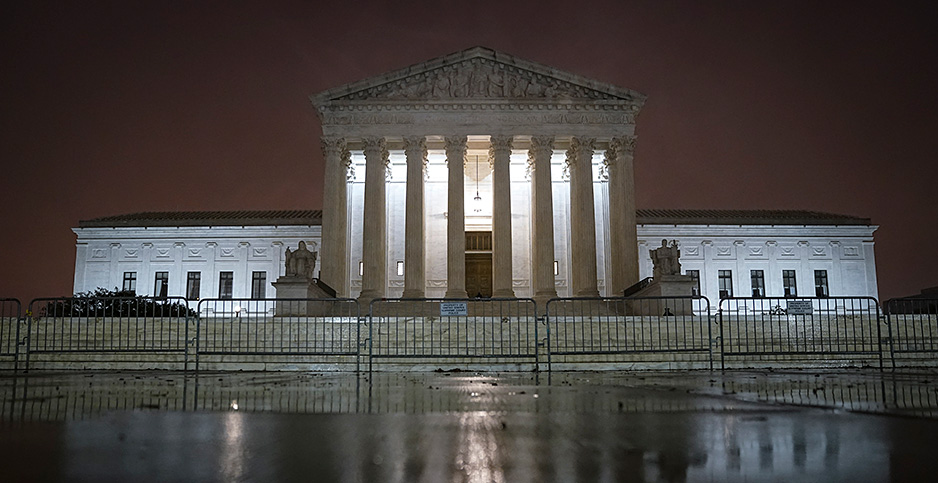 The Supreme Court. Photo credit: Drew Angerer/Getty Images