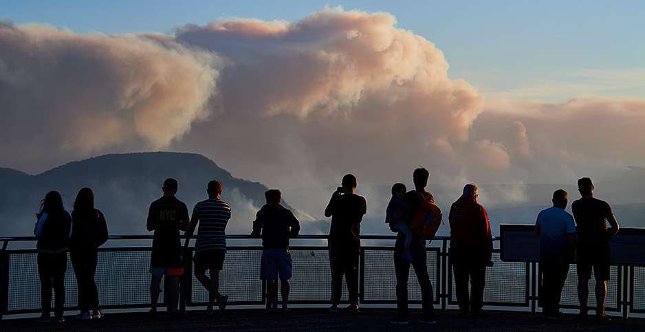Australia bushfire. Photo credit: Brett Hemmings/Getty Images