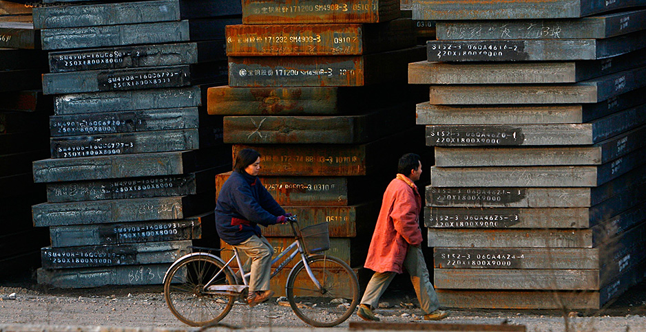 Chinese steel. Photo credit: China Photos/Getty Images